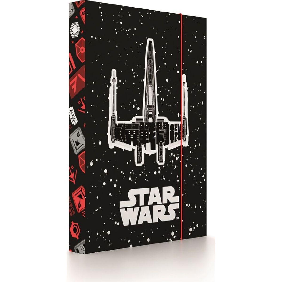 Karton P + P Box na zošity A4 Star Wars