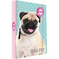 Karton P + P Box na zošity A5 Isha - My love Pet