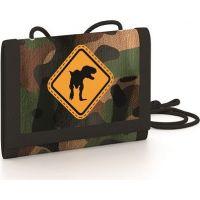 Karton P + P Detská textilná peňaženka T-Rex