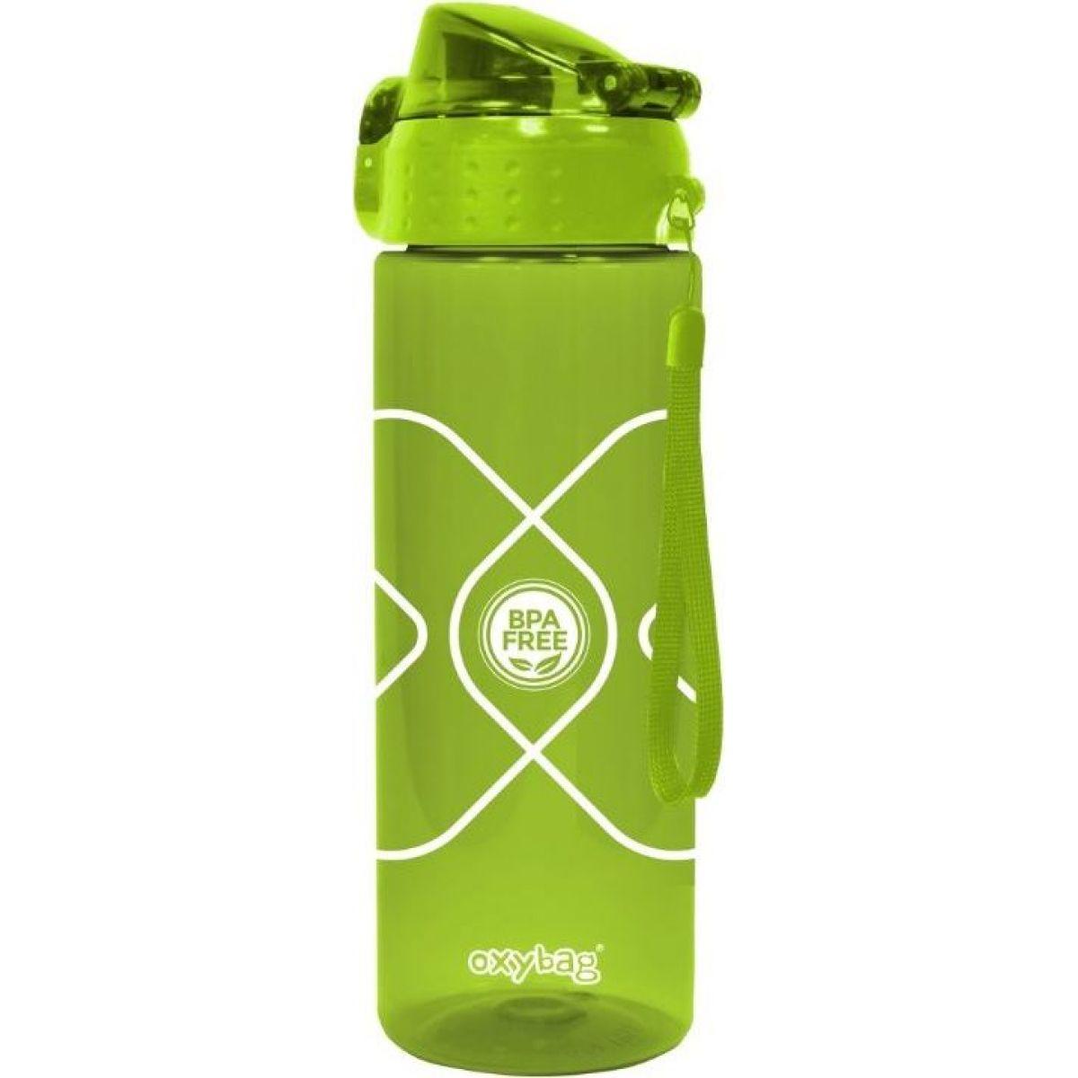 Karton P + P Fľaša na pitie 600 ml Tritan zelená