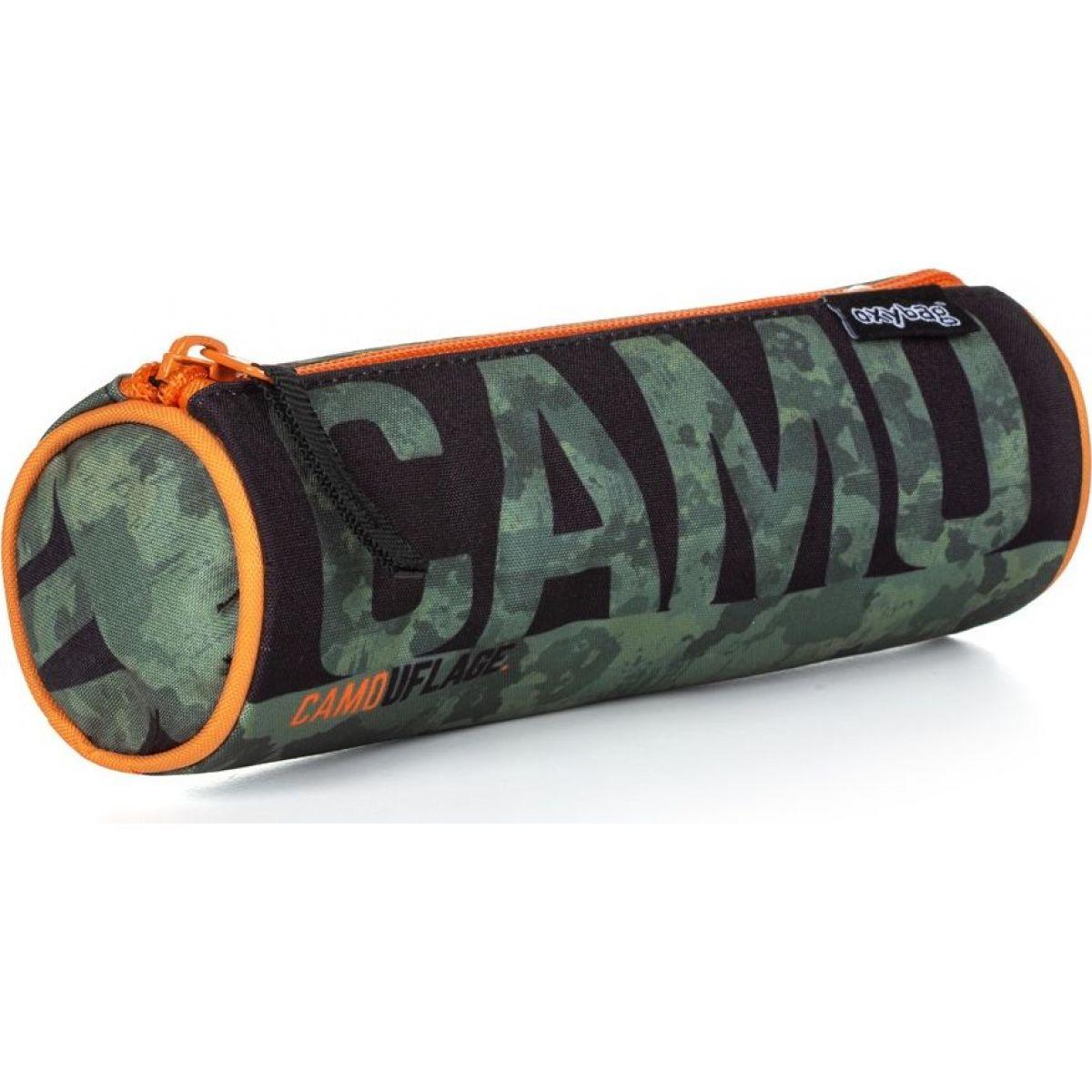 Karton P + P Púzdro etue guľatá Camo