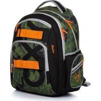 Karton P + P Študentský batoh Oxy Style Army