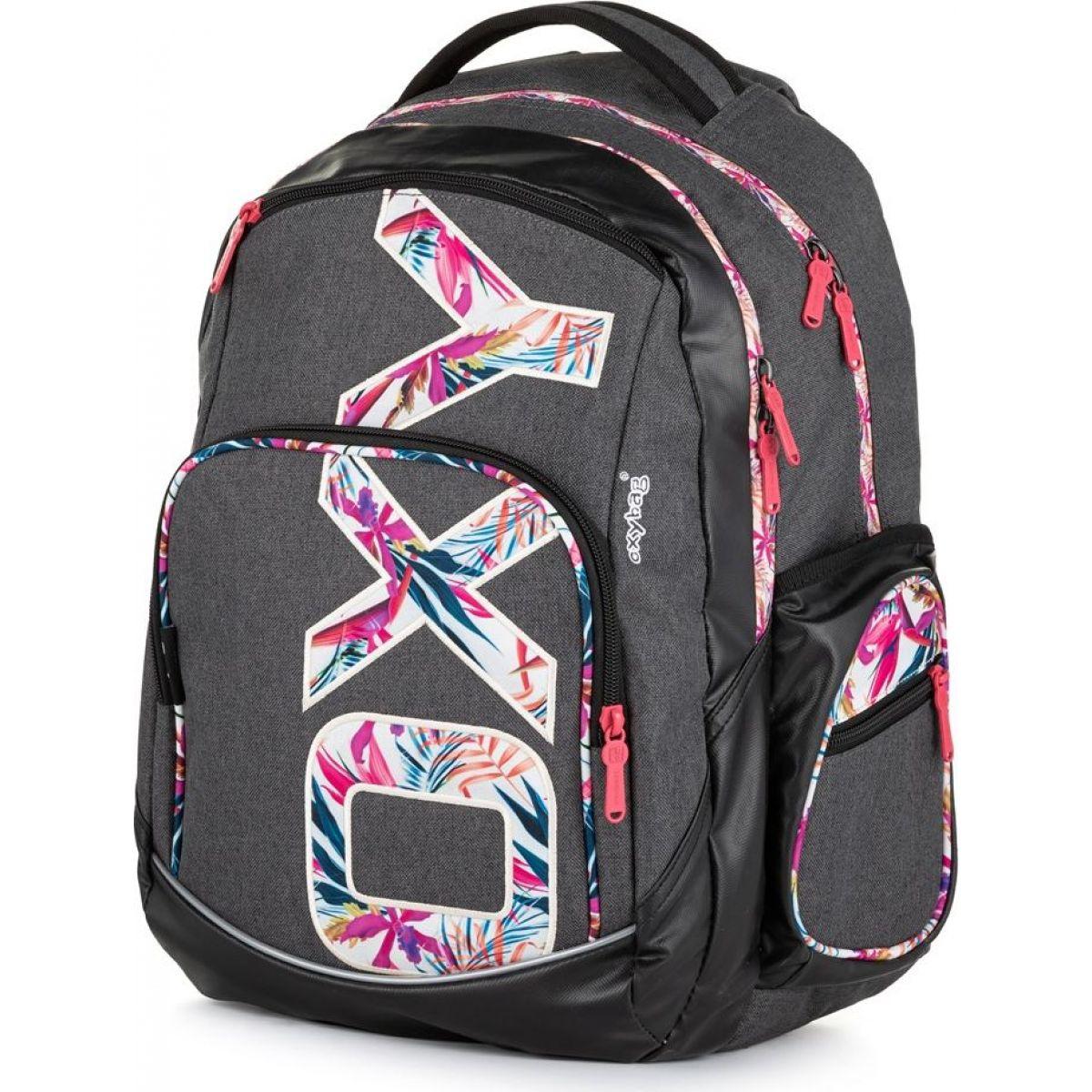 Karton P + P Študentský batoh Oxy Style Flowers