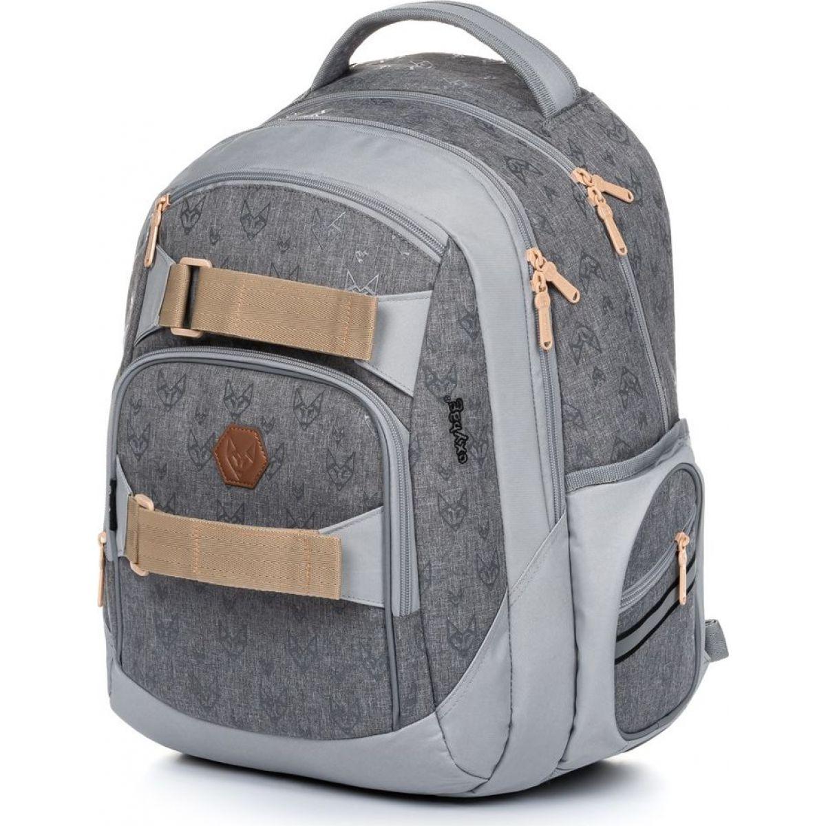 Karton P + P Študentský batoh Oxy Style Fox