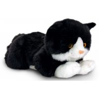 Keel Ležící kočička 25 cm černá
