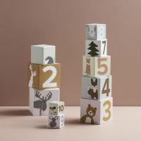 Kids Concept Kocky kartónovej Edvin 10 ks NEW 6