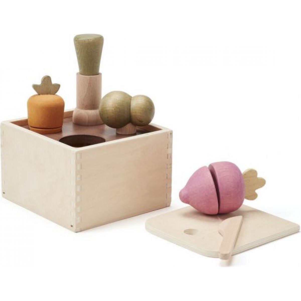 Kids Concept Kvetináč so zeleninou drevený Bistro