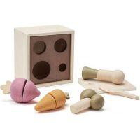 Kids Concept Kvetináč so zeleninou drevený Bistro 3