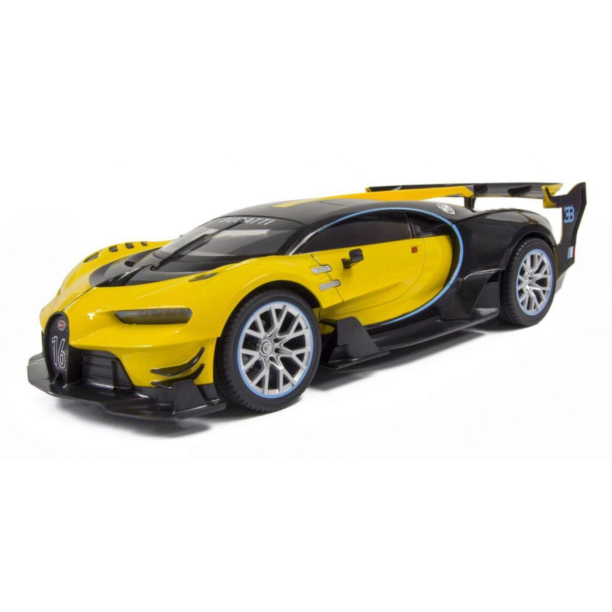 Kidztech RC auto Bugatti Vision GT 1:16 žlto-čierna