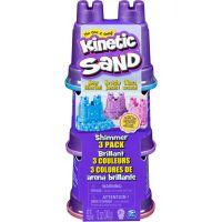 Kinetic Sand balenie 3 kelímkov pastelových farieb 3520