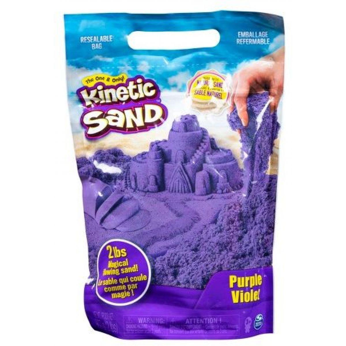 Kinetic Sand Balenie fialového piesku 0,9kg