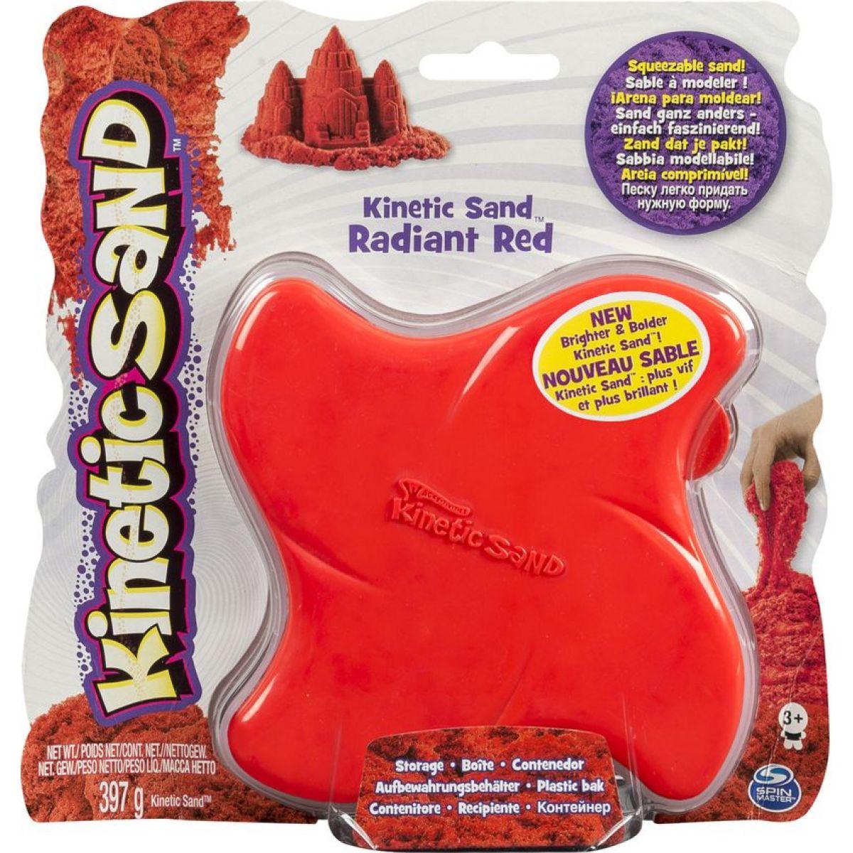 Kinetic Sand Bright&Bold - Červená - Poškozený obal