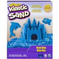 Spin Master Kinetic Sand neónový modrý 680 g
