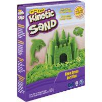 Spin Master Kinetic Sand neónový zelený 680g