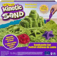 Kinetic Sand Piesočný Zámok zelený