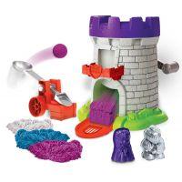 Kinetic Sand středověká věž s doplňky - Poškozený obal 2