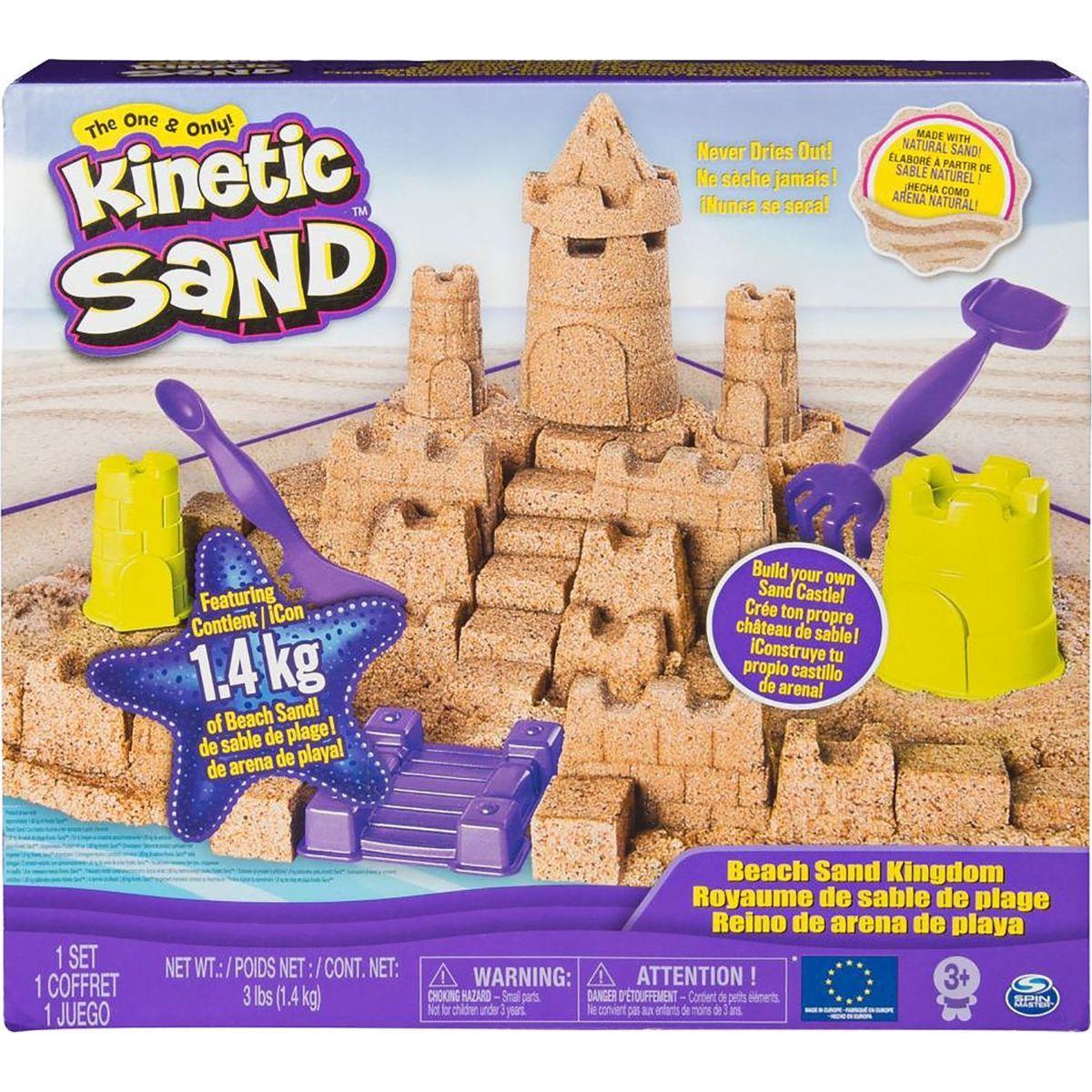 Kinetic Sand veľký piesočný hrad