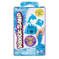Kinetic Sand základní krabice s pískem různých barev 227g Modrá
