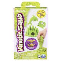 Kinetic Sand Základní krabice s pískem různých barev 227g Zelená