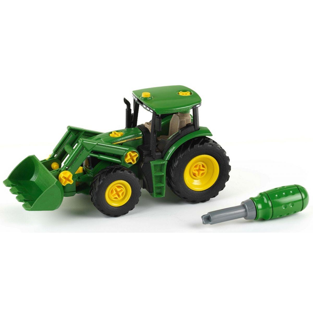 KLEIN John Deere Traktor s predným nakladačom