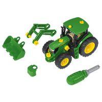 KLEIN John Deere Traktor s predným nakladačom 2