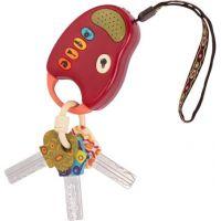 Kľúče k autu FunKeys červené