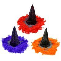 Rappa Klobúk čarodejnica s perím