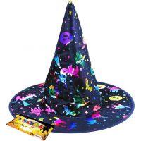 Klobúk čarodejnícky s potlačou pre dospívajúcich 2