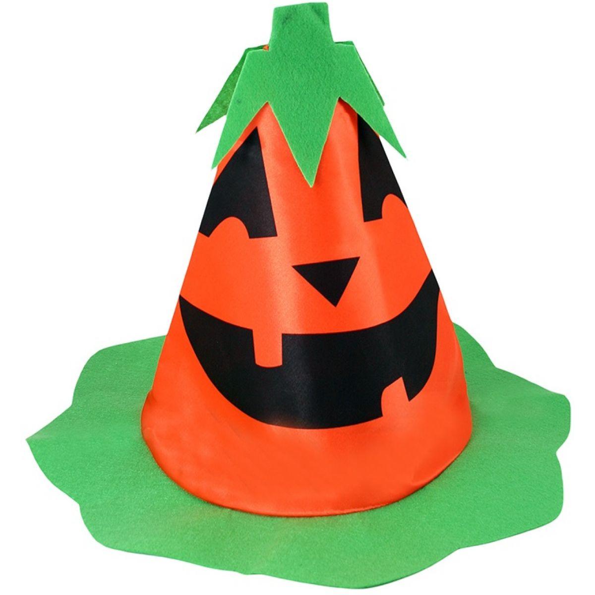 Klobouk halloween dýně