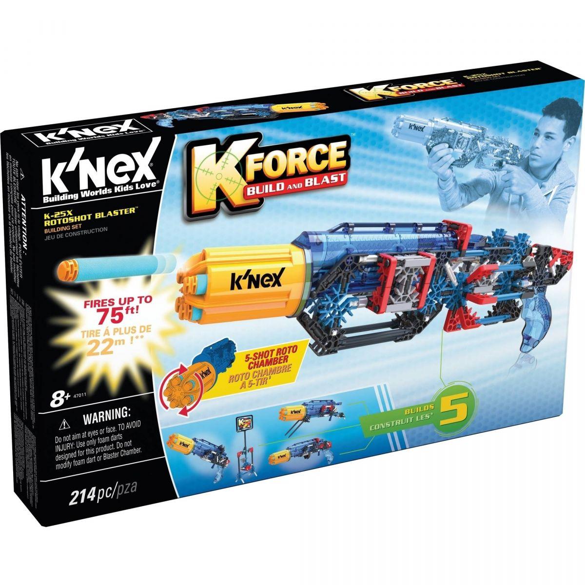 KNex Pistole K 25X Roto Blaster