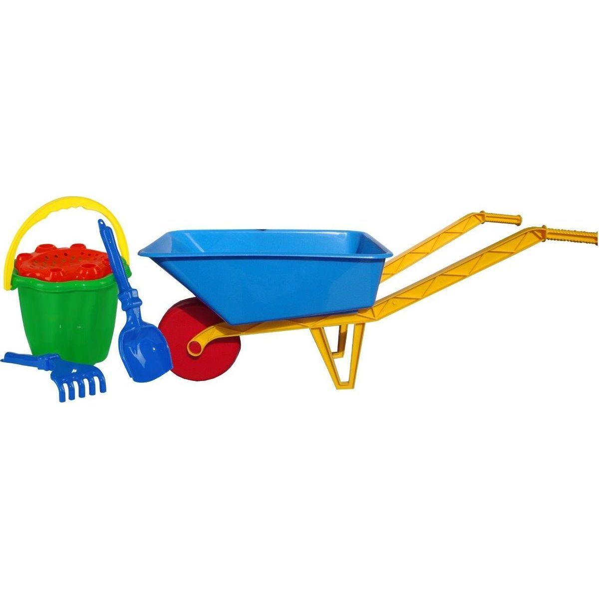Toy Detský fúrik na piesok plastový veľký s príslušenstvom
