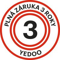 Kolobežka Yedoo Four rada Numbers white 4
