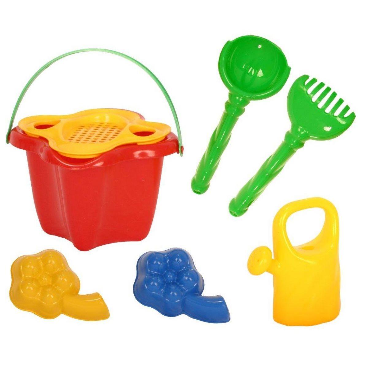 Toy Komplet na piesok s formičkami a konvičkou 8355