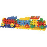 Kostky konstrukční veselý vláček