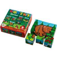 Kocky kubus Moje prvé lesné zvieratká 2