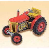 Kovap Traktor Zetor červený kovové disky