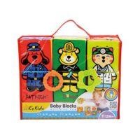 K´s Kids Zábavné textilní kostky 6 ks KA10622