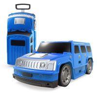 Kufor auto Hummer modrý