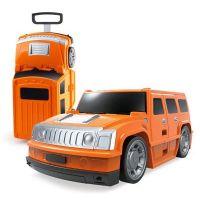 Kufr auto Hummer oranžový