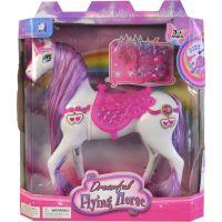 Made Kôň na batérie so svetlom a zvukom príslušenstvo 23 cm