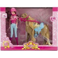 Kôň s bábikou žokejkou 3