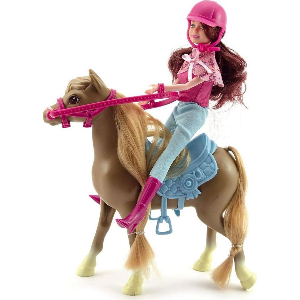Kôň s bábikou žokejkou