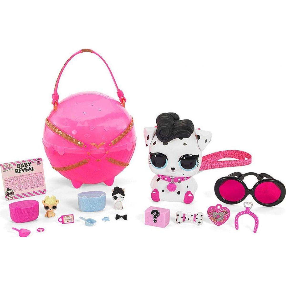 LOL Surprise Biggie Veľká zvieratká - ružové Dalmatín