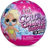 L.O.L. Surprise Sestrička so zmenou farby
