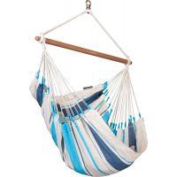 La Siesta Hojdacia sedačka Caribeňa Aqua blue