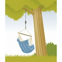 La Siesta Uchytenie sedačky Tree Rope 2