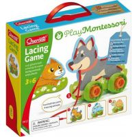Lacing Game lacing animals & wheels – šnurovacie zvieratká s kolieskami