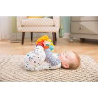 Lamaze Hrkajúce ponožky a náramky zvieratka červeno-oranžovej 2