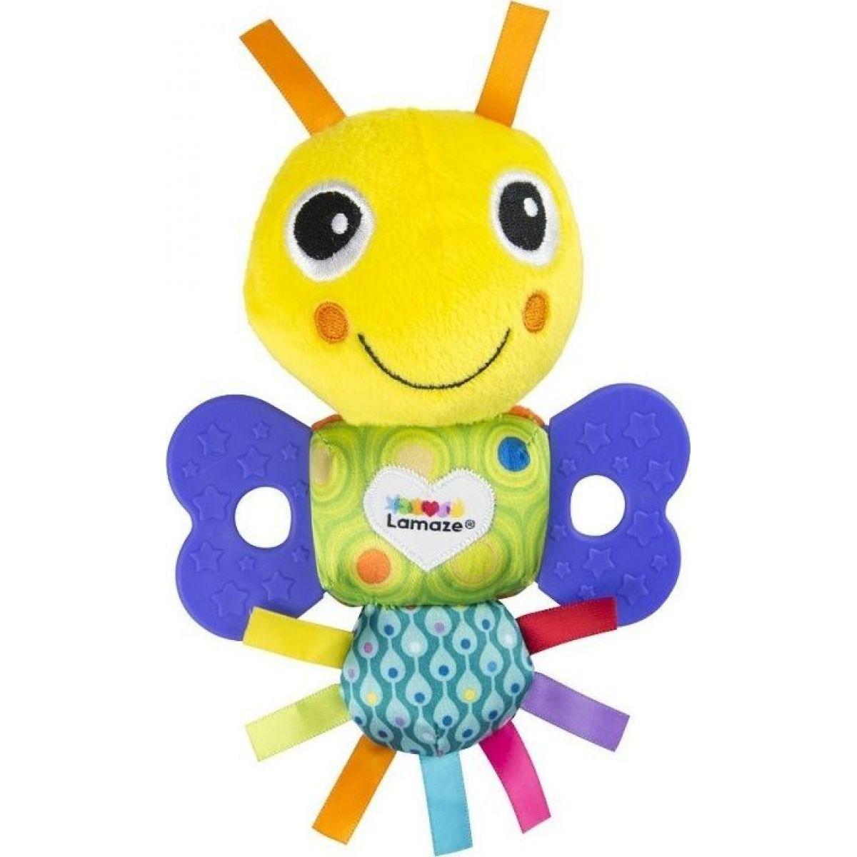 Lamaze Mini hryzátko motýlik