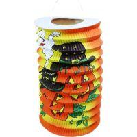 Rappa Lampión Halloween 15cm s čaj. sviečkou
